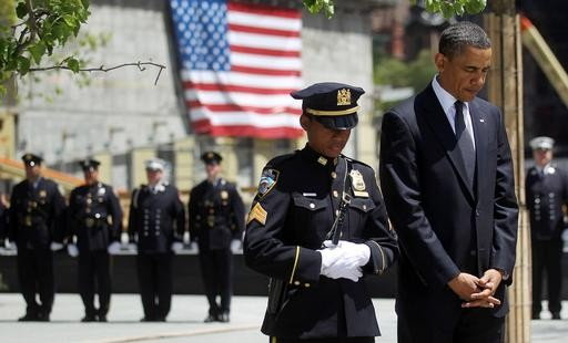 Obama Attends Wreath-Laying Ceremony At Ground Zero