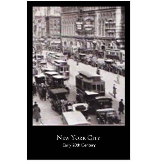 New York City Historical Poster 2