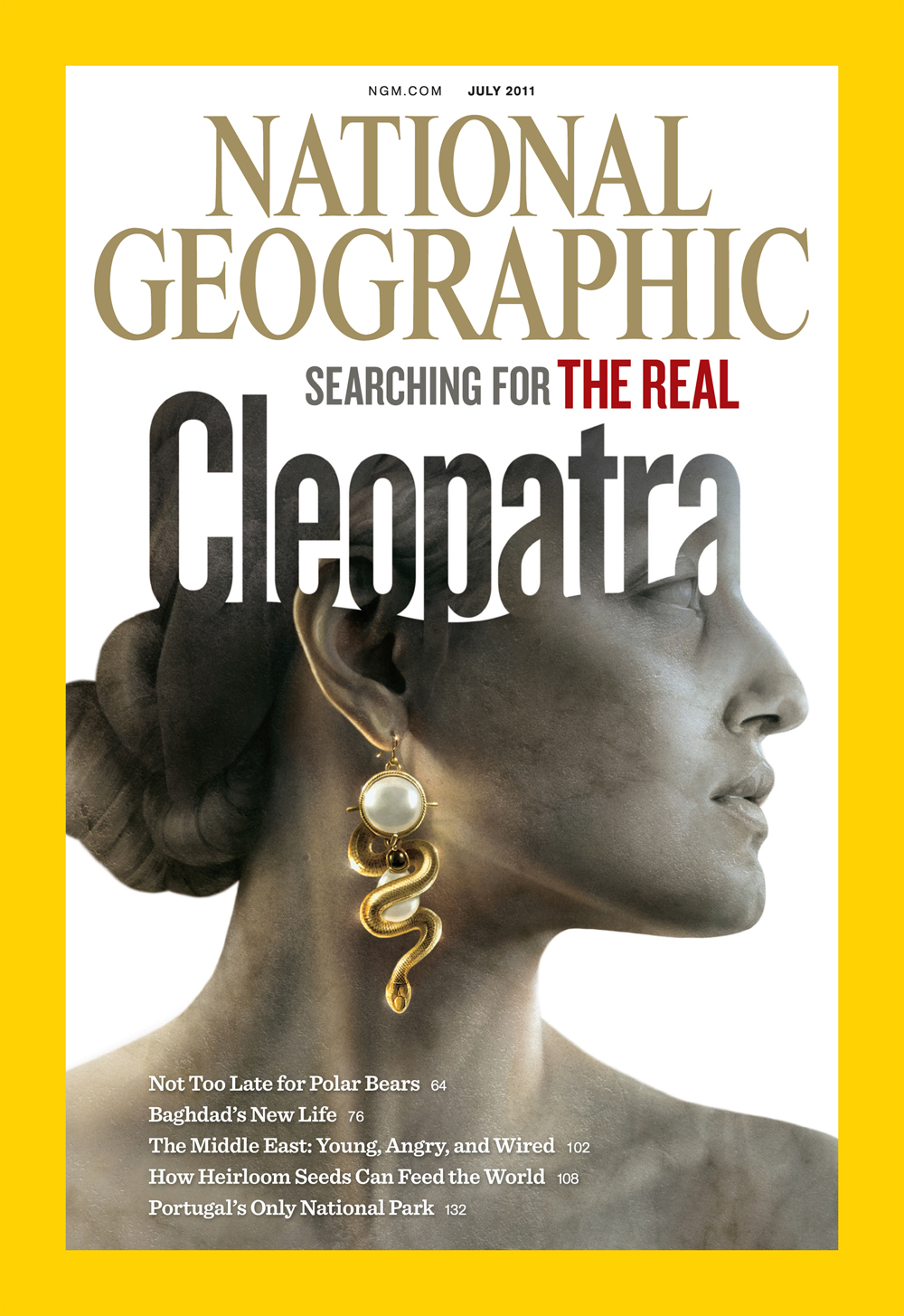 THE JULY 2011 ISSUE OF NATIONAL GEOGRAPHIC