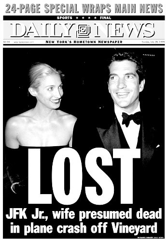 JFK Jr Killed in Plane crash