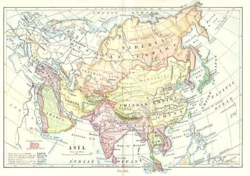 Historical maps 1901 research history asia map 1901 gumiabroncs Image collections
