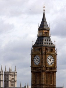 Big Ben First Rings Out Over London Research History
