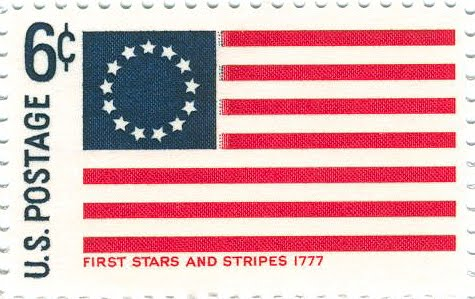 First american flag research history for History of american flags