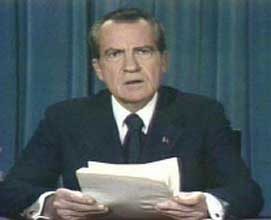 Richard Nixon resignation